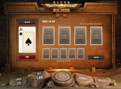 Риск игра в автомате River of Riches