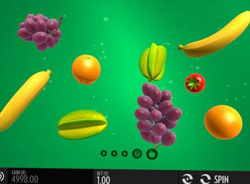 Символы игрового онлайн автомата Fruit Warp