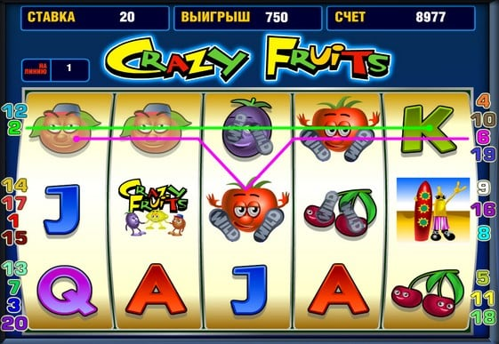 Игровое Казино Crazy Fruits