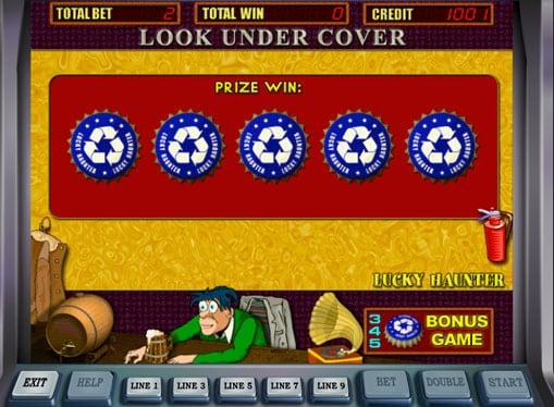 Бонусная игра в автомате Lucky Haunter