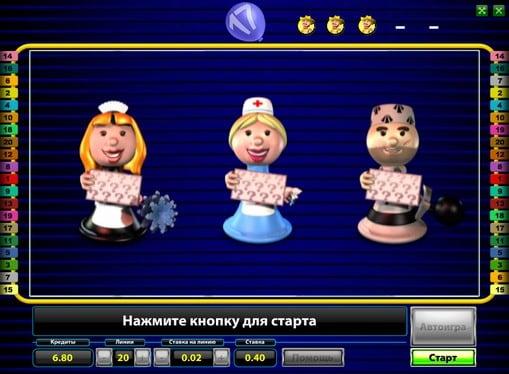 Бонус игра на аппарате Party Games Slotto