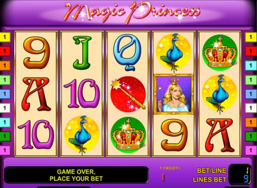 Символы автомата Magic Princess