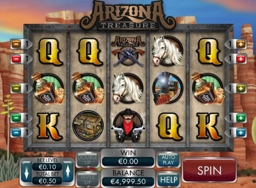 Символы игрового автомата Arizona Treasure