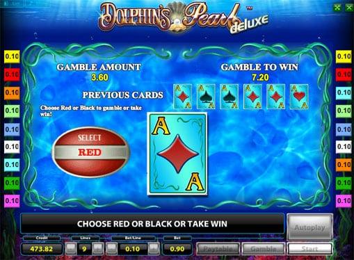 Риск игра на Dolphins Pearl Deluxe