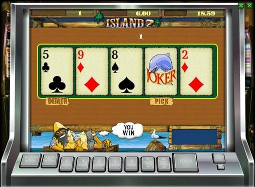 Риск игра на аппарате Island 2